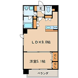 グランデュ−ル東桜[7階]の間取り