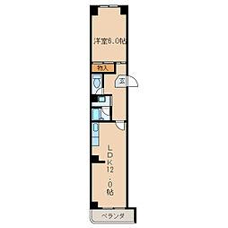 新栄シマダマンション[4階]の間取り