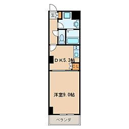 レジディア東桜[3階]の間取り