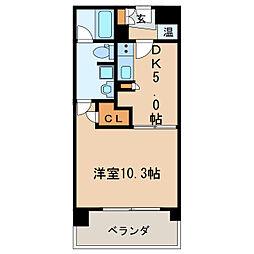 KDXレジデンス東桜II[6階]の間取り