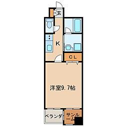あいさきがけ[6階]の間取り