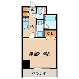 グランルージュ栄II[9階]の間取り