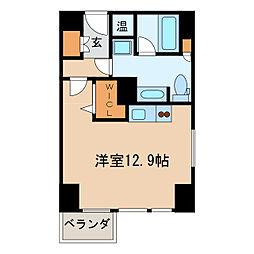 プライムアーバン矢場町[5階]の間取り