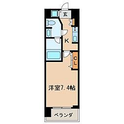 プライムアーバン泉[13階]の間取り