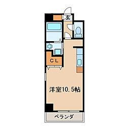 コート新栄[8階]の間取り