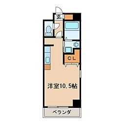 コート新栄[4階]の間取り