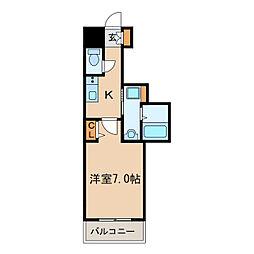 PONTE ALTO新栄[7階]の間取り