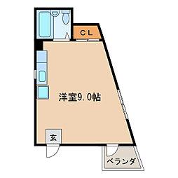 加藤コーポ新栄[3階]の間取り
