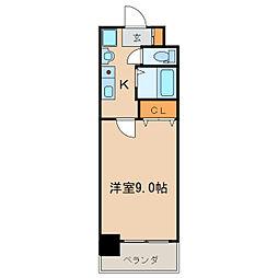 グレイス新栄[8階]の間取り