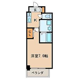 パルティール新栄[6階]の間取り