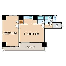 サンライフマンション泉[3階]の間取り