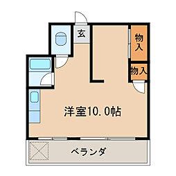 花金ビル[6階]の間取り