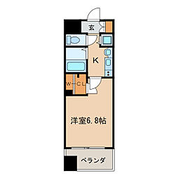 プレサンス泉セントマーク[2階]の間取り