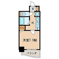 プレサンス泉アーバンゲート[8階]の間取り