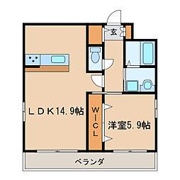UNROOM[8階]の間取り