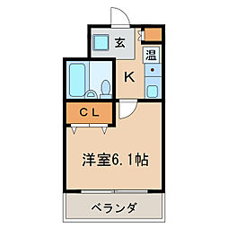 ES HEIGHTS[9階]の間取り