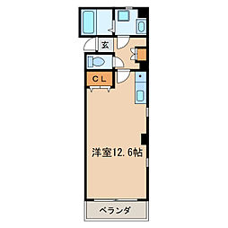 Szビル[3階]の間取り