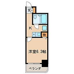 ライオンズマンション新栄[9階]の間取り