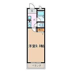 プラザ梅森台[3階]の間取り