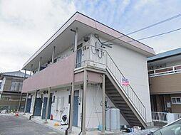三重県鈴鹿市平田2丁目の賃貸アパートの外観