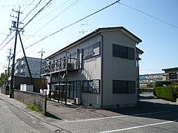 三重県鈴鹿市十宮3丁目の賃貸アパートの外観