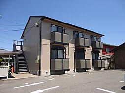 三重県鈴鹿市平野町の賃貸アパートの外観