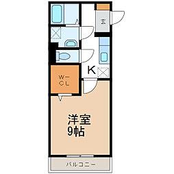 ハーベスト平田[2階]の間取り