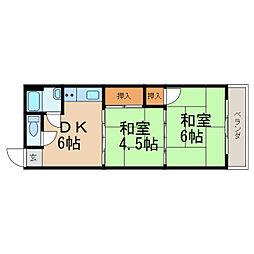 中松江駅 2.5万円