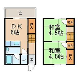 田井ノ瀬駅 3.5万円