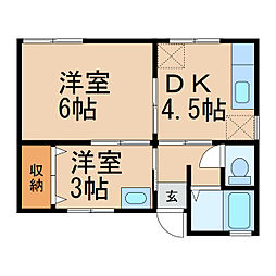 宮前駅 3.4万円