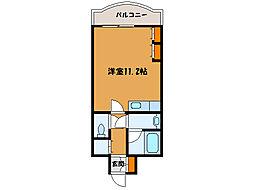 北海道函館市栄町の賃貸マンションの間取り