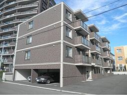北海道函館市千代台町の賃貸マンションの外観