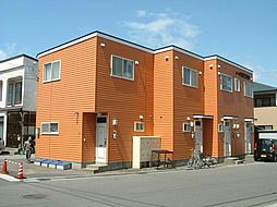 北海道函館市亀田港町の賃貸アパートの外観