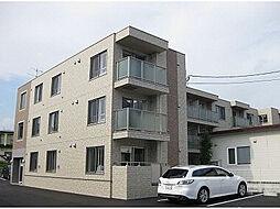 北海道函館市日吉町4丁目の賃貸アパートの外観