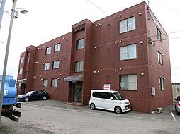 北海道函館市中道2丁目の賃貸マンションの外観