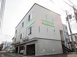 北海道函館市田家町の賃貸アパートの外観