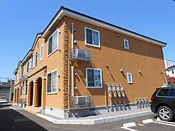 北海道函館市杉並町の賃貸アパートの外観