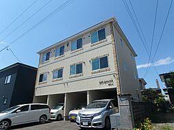 北海道函館市時任町の賃貸アパートの外観