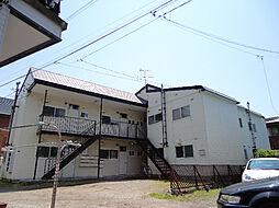 北海道函館市松川町の賃貸アパートの外観
