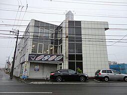 北海道函館市富岡町1丁目の賃貸アパートの外観
