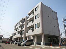 北海道函館市美原2丁目の賃貸アパートの外観