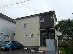 北海道函館市住吉町の賃貸アパートの外観