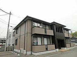 シャーメゾン佐藤 C・D棟[2階]の外観