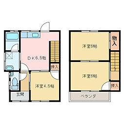 [一戸建] 愛媛県新居浜市高木町 の賃貸【/】の間取り
