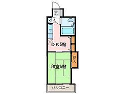 ダイアパレス新居浜(西原不動産)[2階]の間取り
