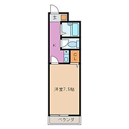 RIVARI[2階]の間取り