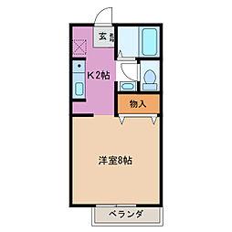 52@[1階]の間取り