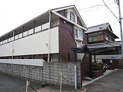 滋賀県大津市杉浦町の賃貸アパートの外観