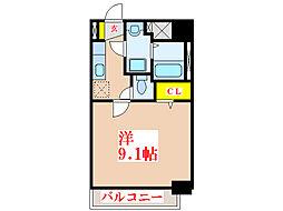 エスペール21樋之口[4階]の間取り