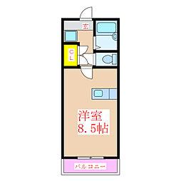 JAウィング新屋敷[1階]の間取り